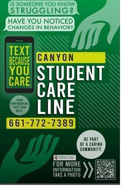 CHS Student Care Line