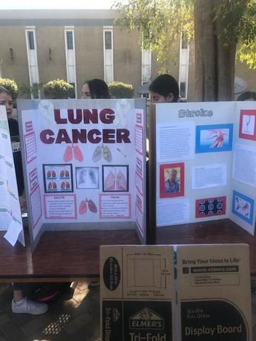 Health Students Present Service Learning Projects in the Quad Featured Photo