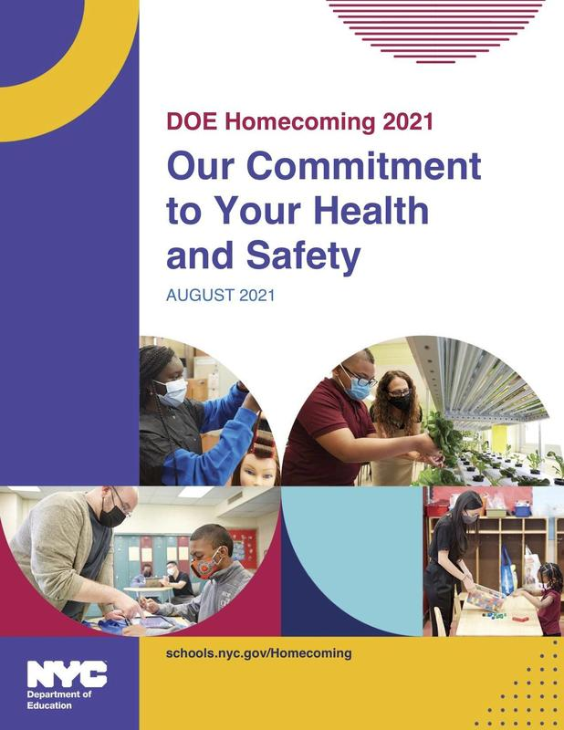 NYC Department of Education homecoming 2021