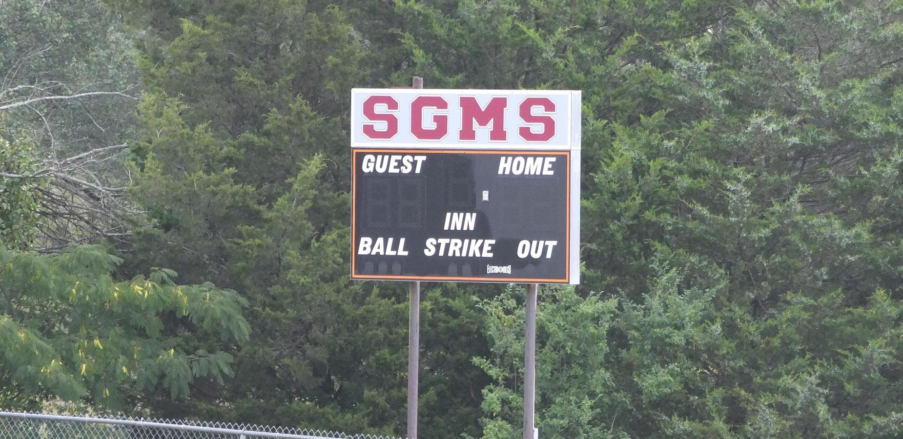 SGMS Scoreboard