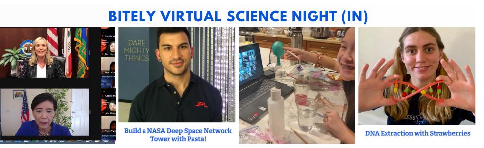 Bitely Virtual Science Night (In)