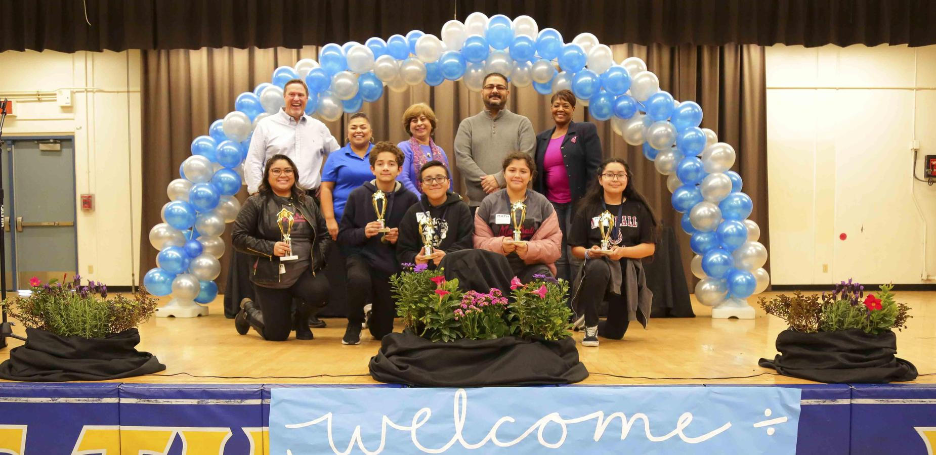 Marshall 7th Grade students take 2nd Place at the Math Field Day - Congratulations to all of our Mustangs that won 2nd Place at the Math Field Day held at Garey High School. We are proud of your academic success! #proud2bepusd http://edl.io/n1149162