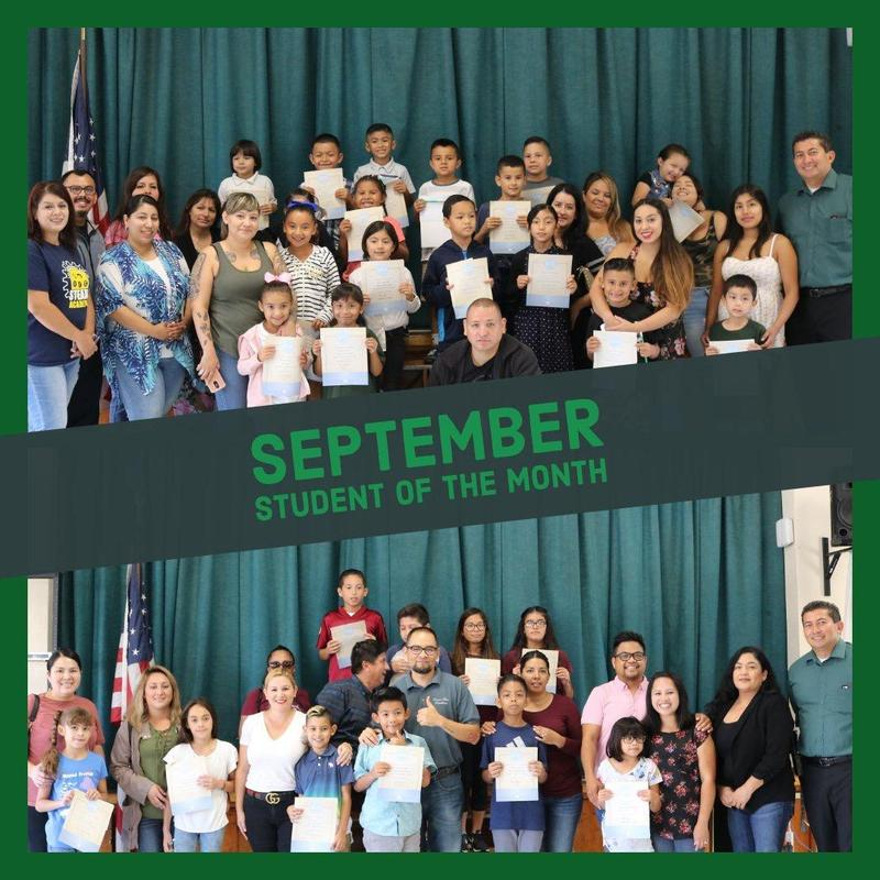 Student of the Month - September 9, 2018 Featured Photo