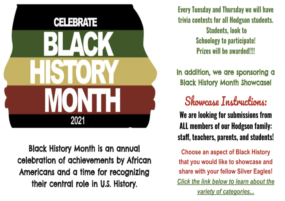 Black History Month Posting