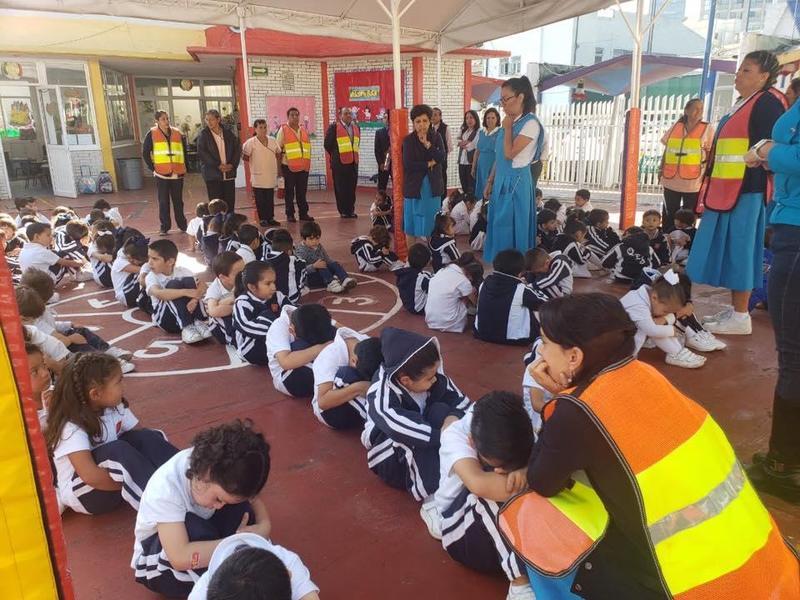Se lleva a cabo con éxito el Macro Simulacro en Queen Elizabeth School del 19 de Septiembre 2019 Featured Photo
