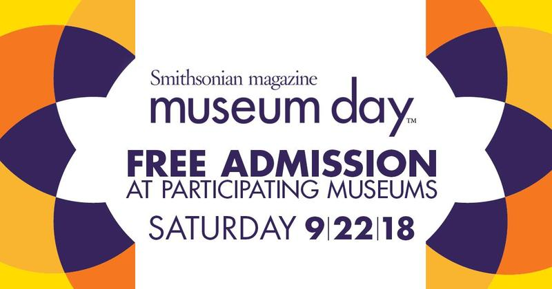 Free Museum Day Coming Up! Thumbnail Image