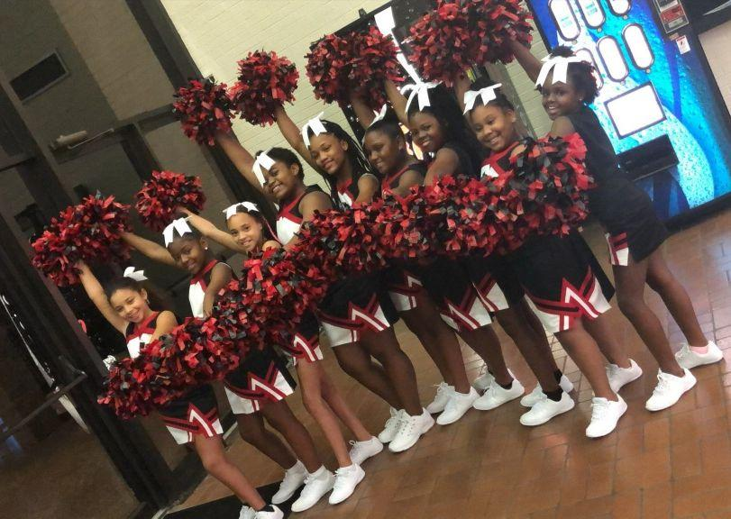 A photo of Bakerfield/Baker Heights Cheerleader Squad
