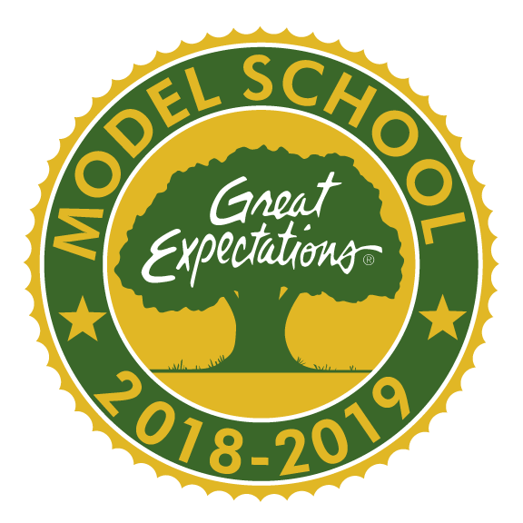 Great Expectations Model School Emblem
