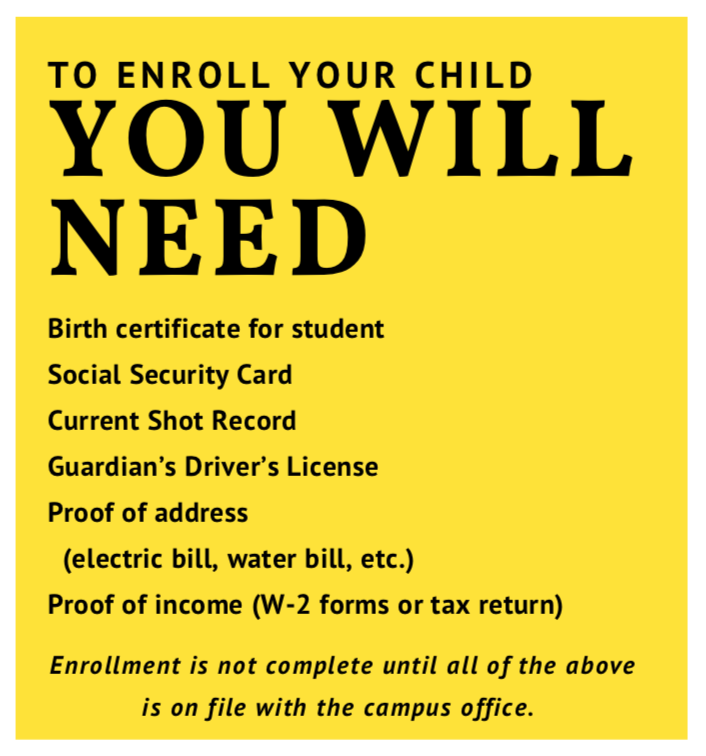 Pre-K enrollment information Featured Photo