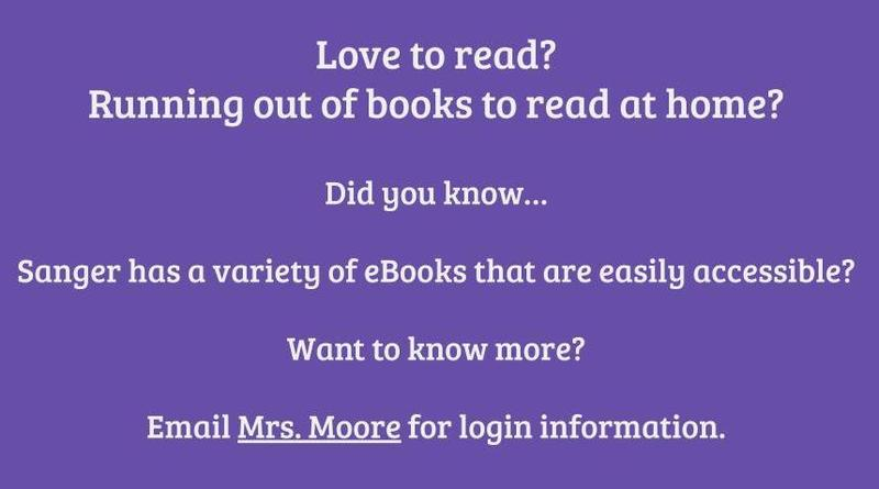 Reach out to the district librarian for more help with accessing books online.