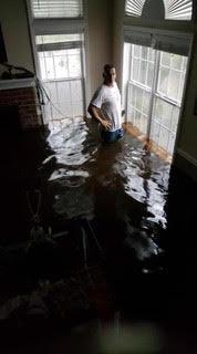 flooding during the hurricane