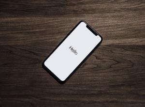 Phone that says hello