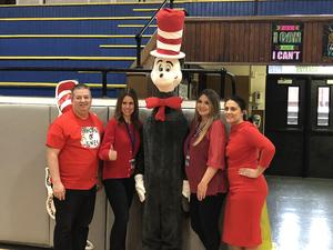 Washington Admin with Cat in the Hat