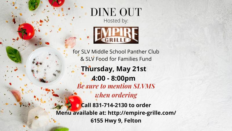 Dine out for SLVMS