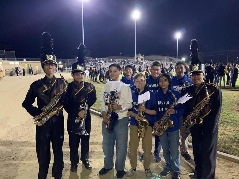 Kennedy Hosts Frost MS Students for Homecoming Featured Photo