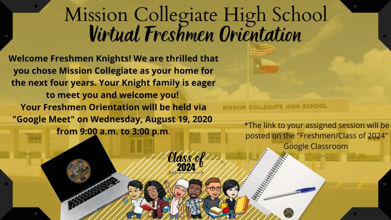 Virtual Freshmen Orientation Featured Photo