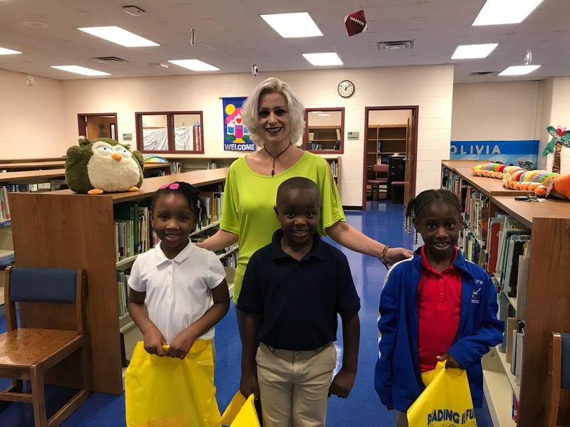 .  Our top readers of the Summer:  Isaiah Caison 1st Grade, Kristen Haywood 1st Grade, and Faith Wynn, Kindergarten. Featured Photo