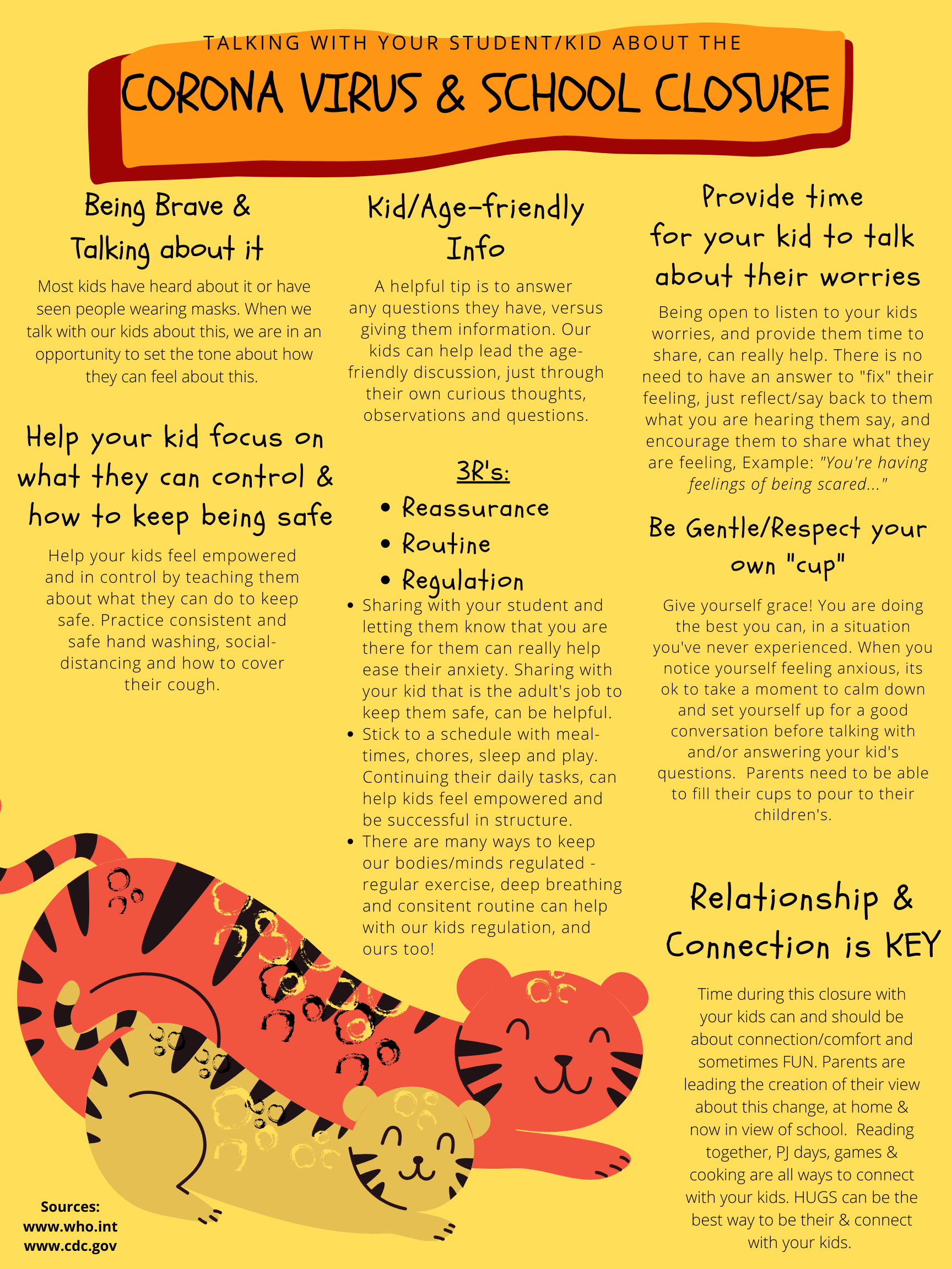 Talking point for kids - Corona-virus