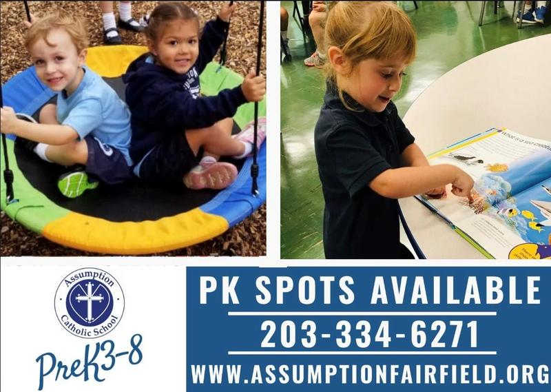 PreK Spots Available