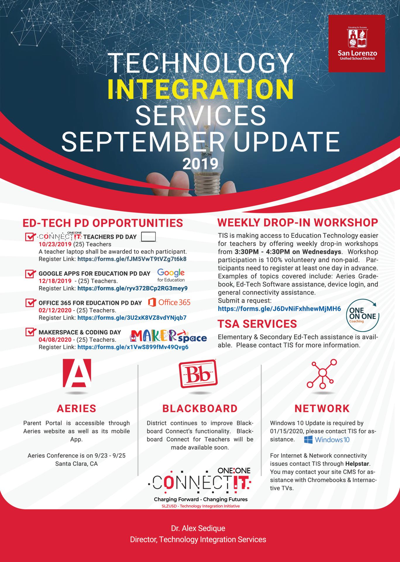 TIS - September Newsletter