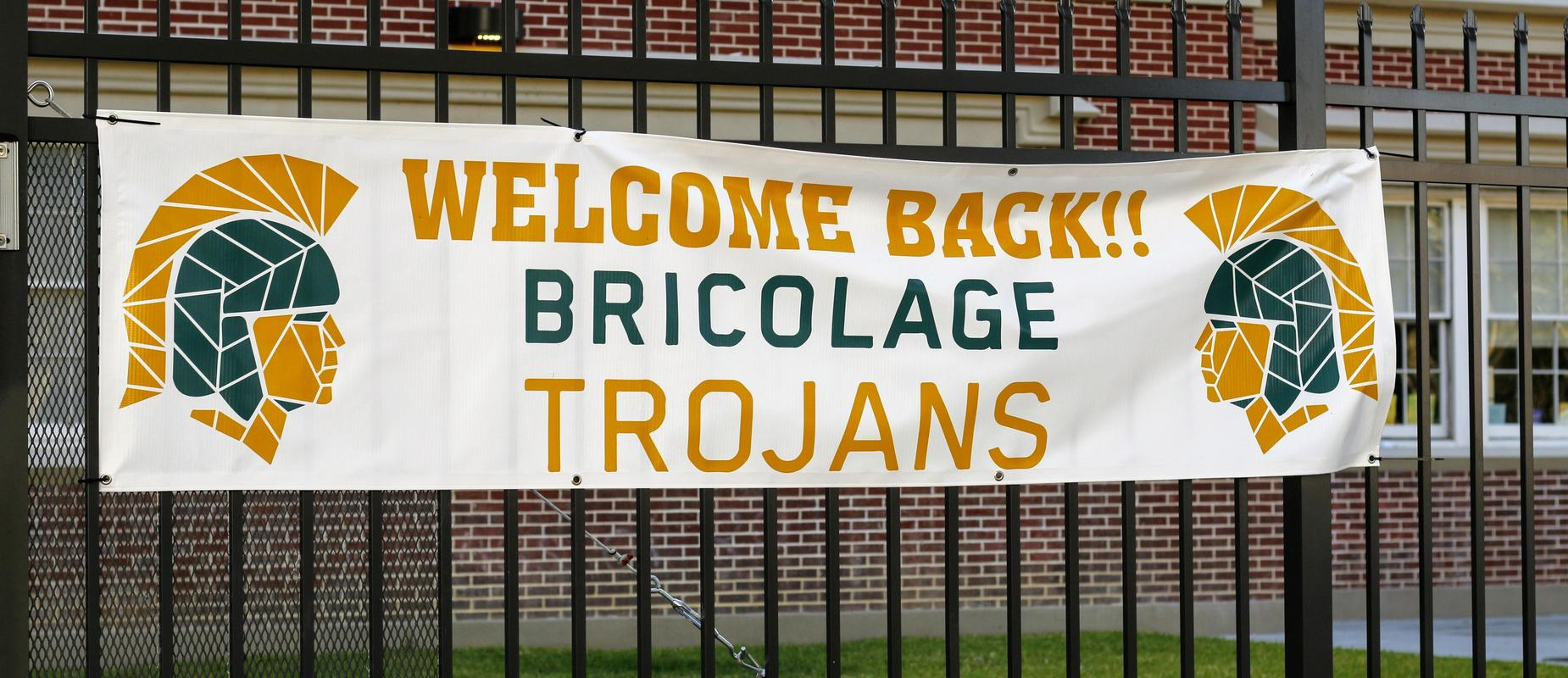 Welcome Back Bricolage Trojans