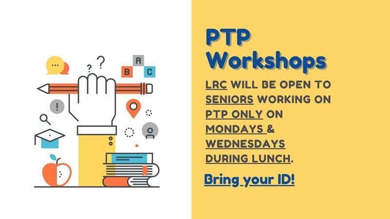 C/O 2022 Senior PTP Workshops Featured Photo