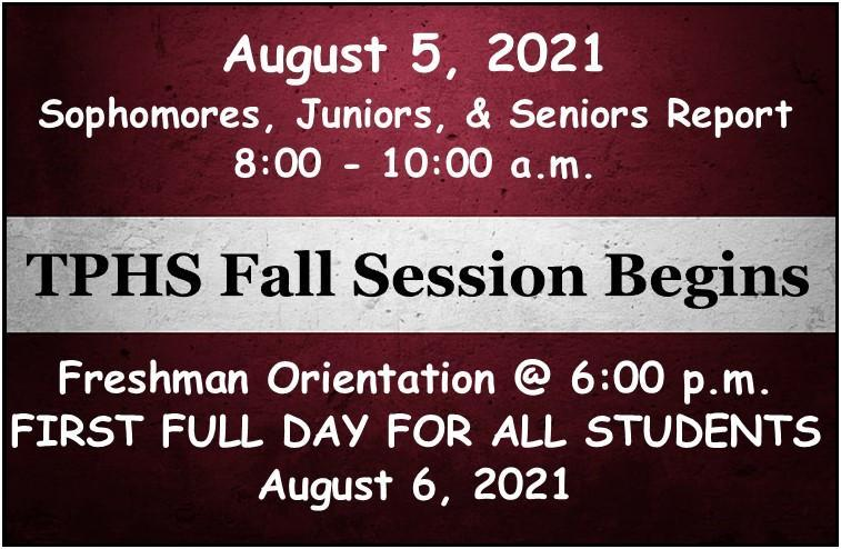 2021 Fall Session