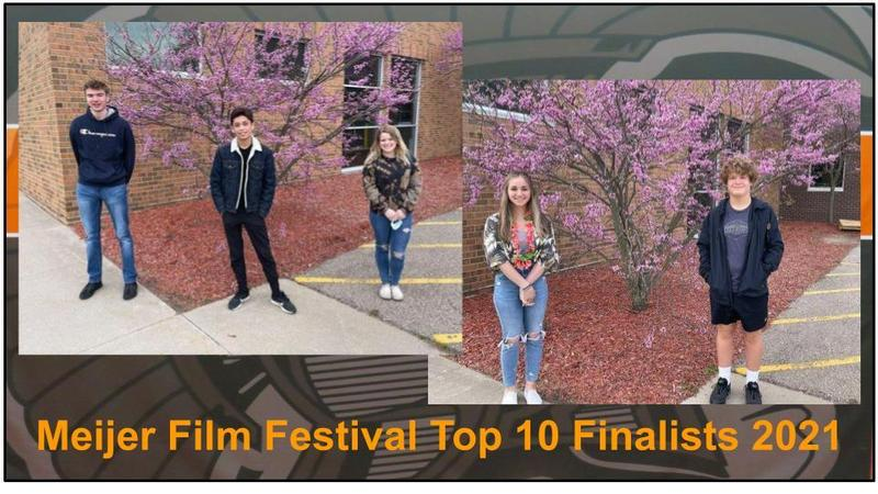 Five TKHS students have been named top 10 finalists in the Meijer Great Choices Film Festival.