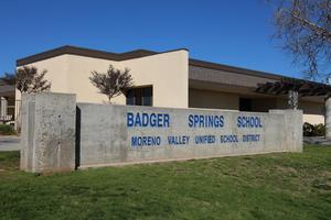 Badger Springs school photo