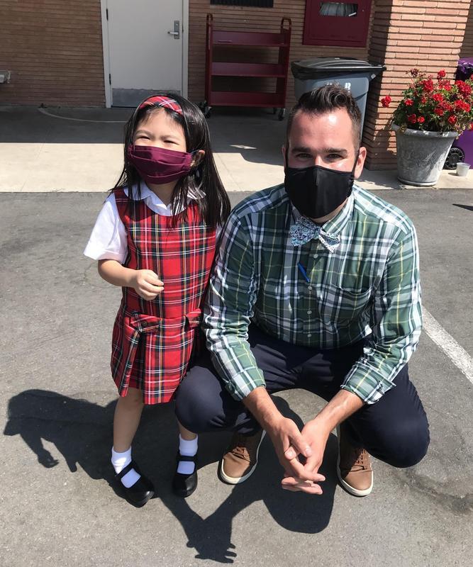 Fr. Gerard Makes OLR School Announcement Featured Photo