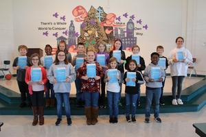 Pictured are some of the B-L Elementary School students who were recently selected to star in the school's upcoming production of Disney's Frozen Jr.  Front row, left to right: Ava Watson, Bella Caughman, Lexie Davis, Ainsley Jones, Sofia Moreno, C.J. Summers. Back row, left to right: Chandler Corbett, Lauren Dozier, Kate Shealy, Mack Day, Melodee Prouse, Becca Nurse, Garrett Smart, Nathan Jones, Hayven Able.