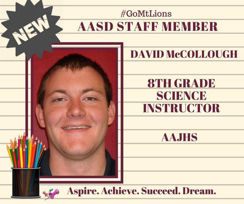 AASD Welcomes David McCollough Thumbnail Image