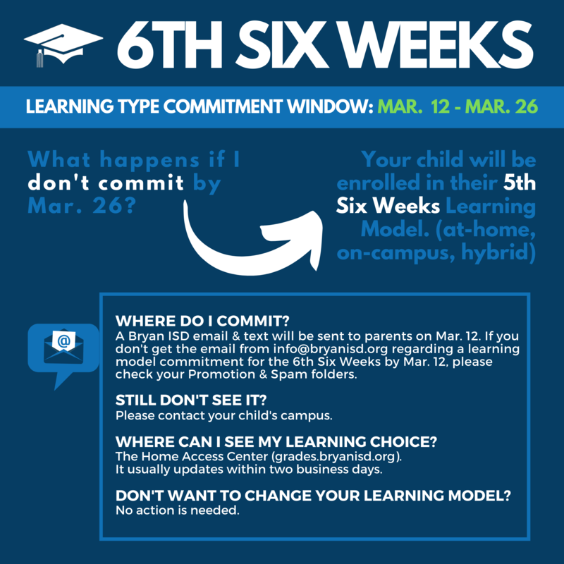 6th Six Weeks Commitment
