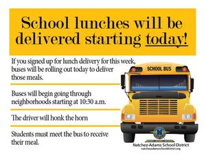 School Lunch Delivery