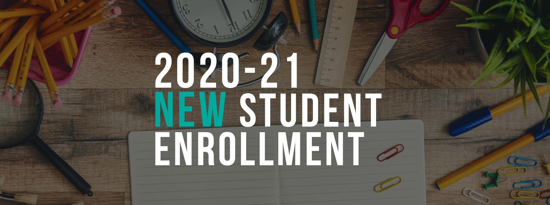 New Student Enrollment Banner
