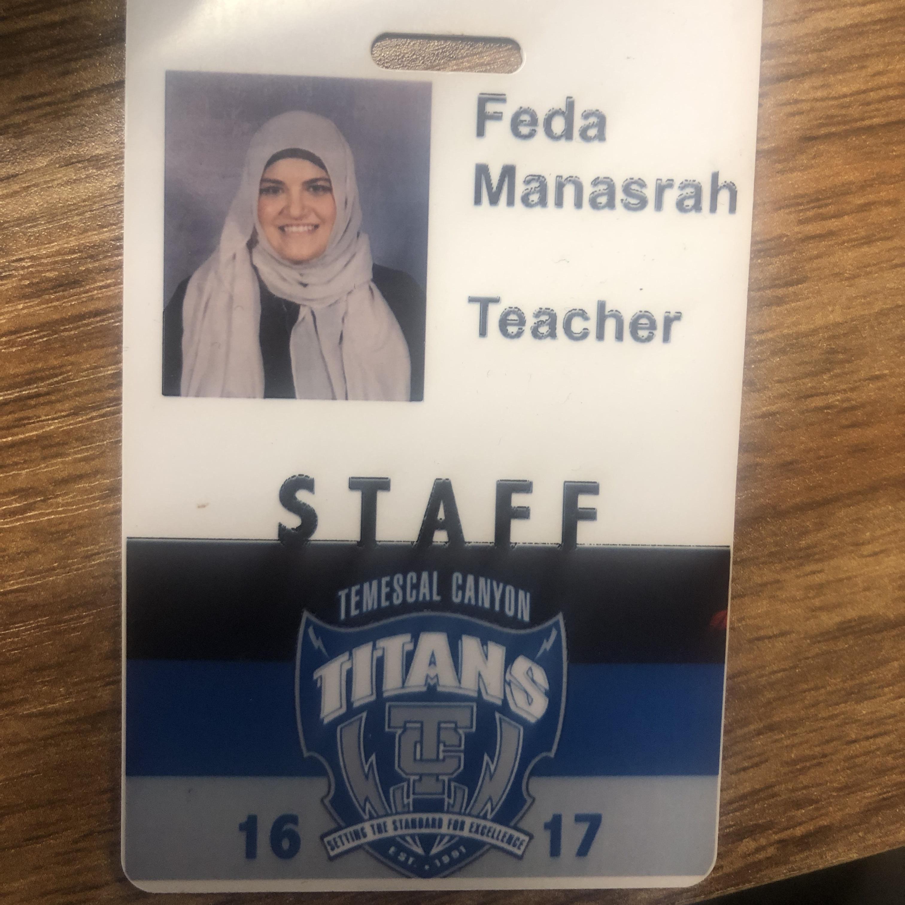 Feda Manasrah's Profile Photo