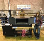 For the second consecutive year, Brewer senior Bella Clark won Grand Champion Showmanship at the State Fair of Texas.
