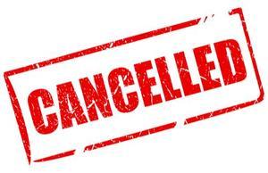 Canceled sign