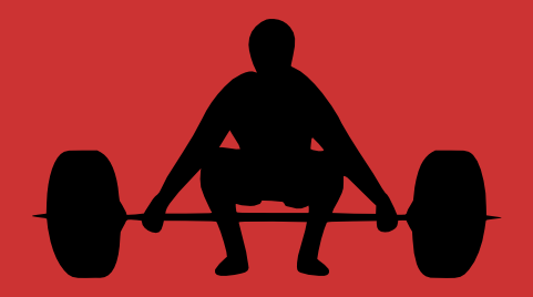 stock clipart of lifting weights