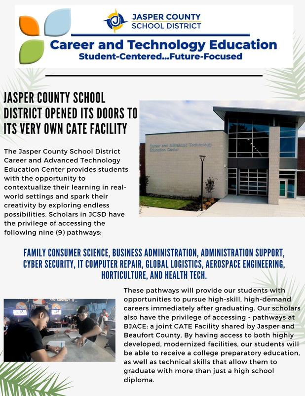 STEM (Science, Technology, Engineering and Math) in Jasper County School District Featured Photo