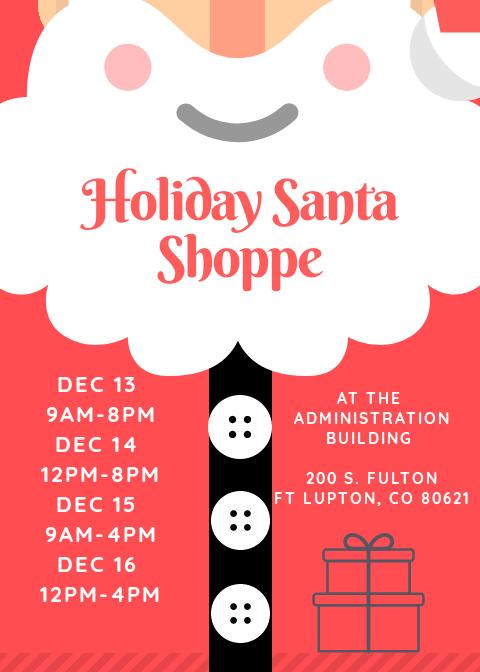 Holiday Santa Shoppe