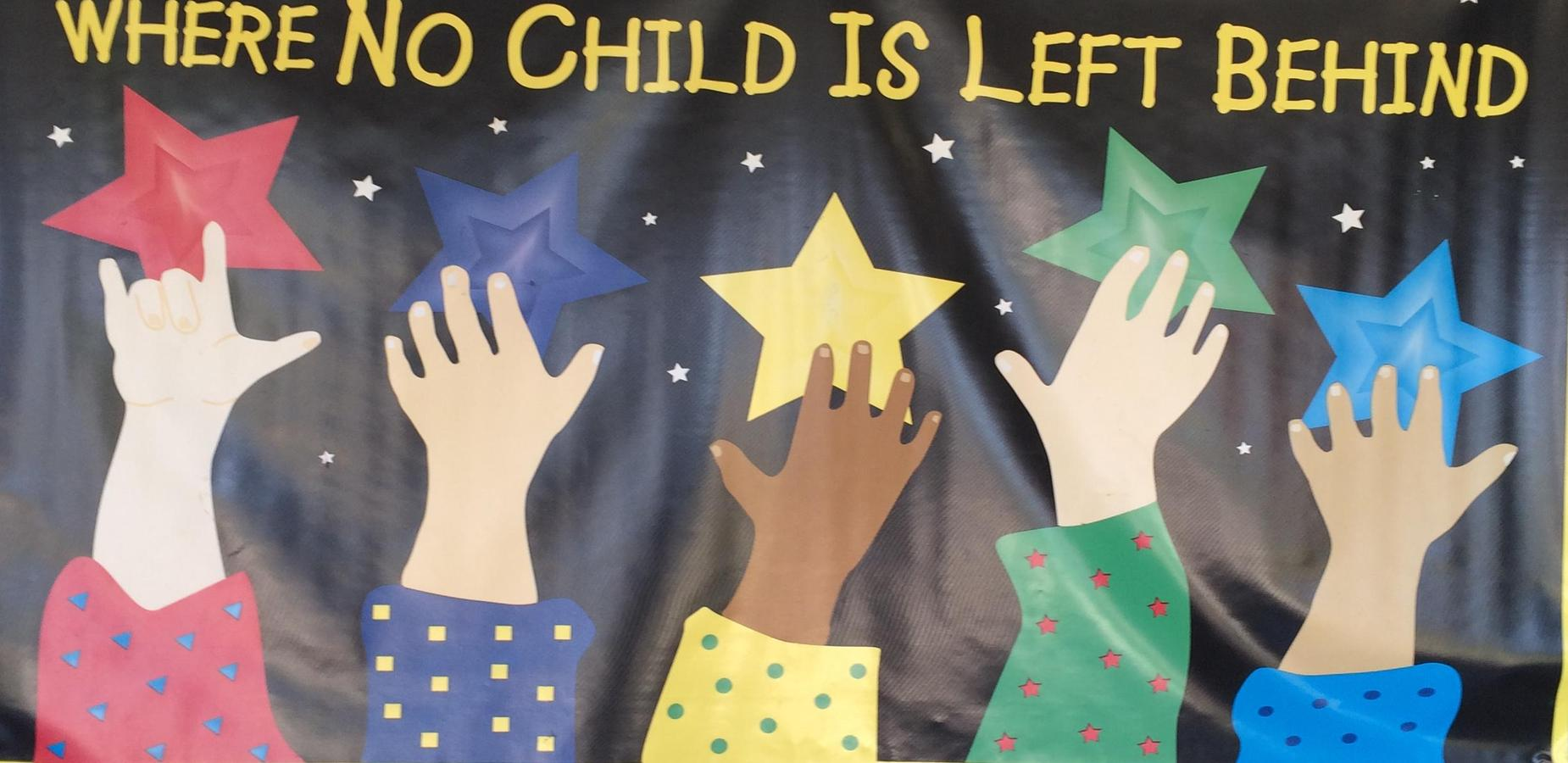 No Child Left Behind Art