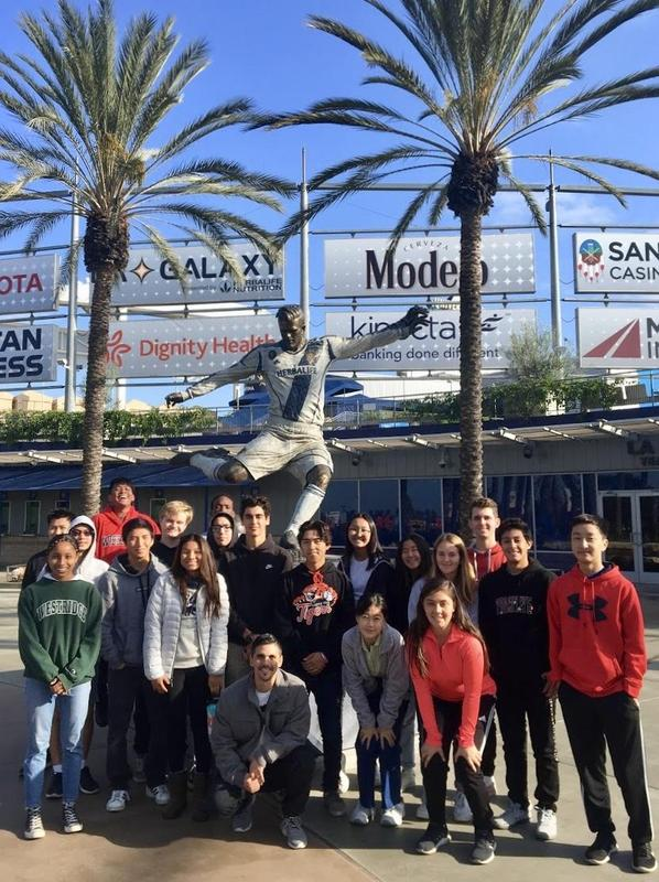 Students at Dignity Health Sports Park