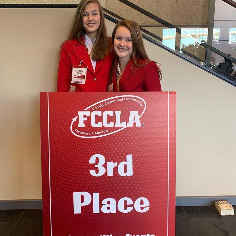 FCCLA Succeeds at Region V Conference! Thumbnail Image