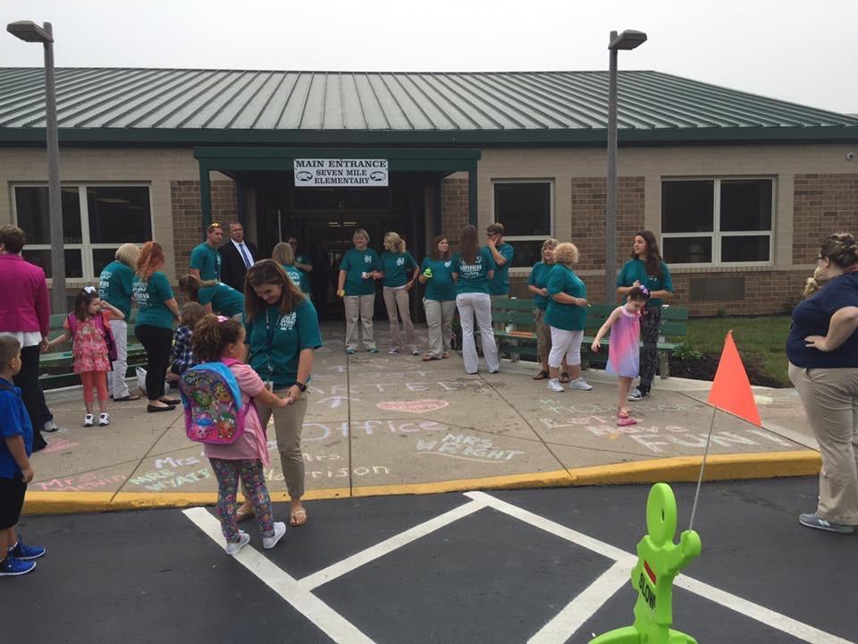 1st Day of School, 2016
