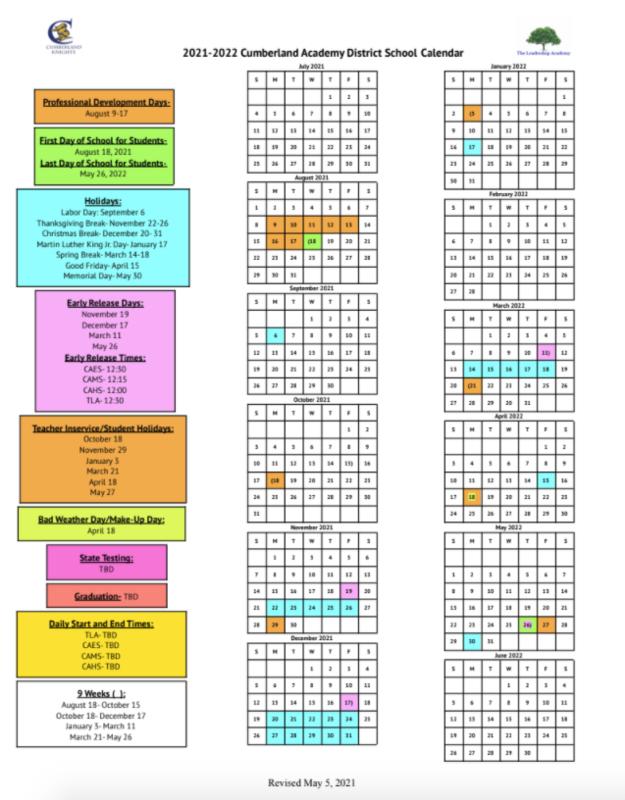 Jcps 2022 23 Calendar.Orange County School Calendar 2022