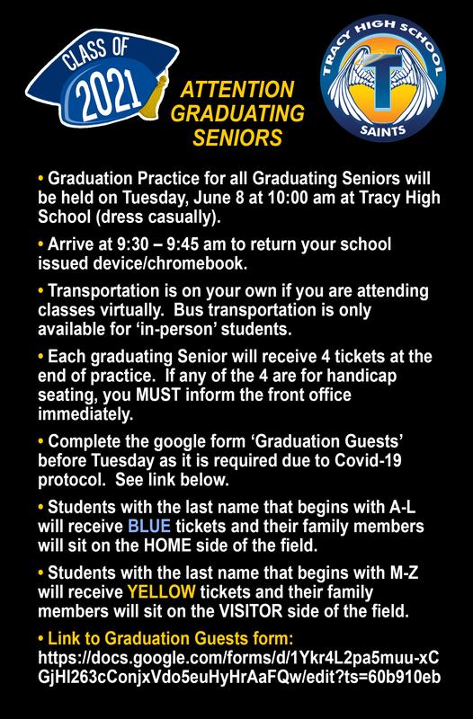 Attention Grad Seniors