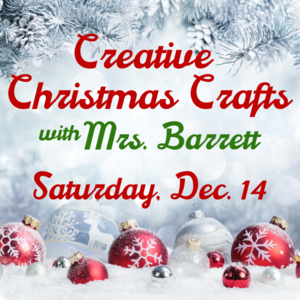 Christmas Craft Class
