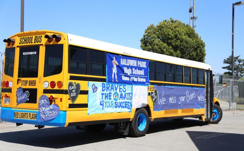 Video: Baldwin Park High School's 2020 Caravan