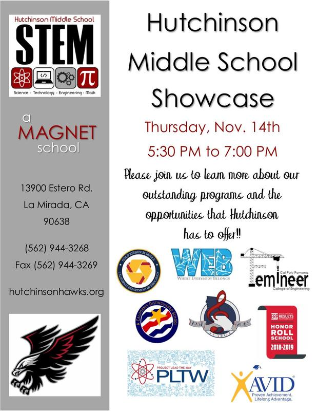 Hutchinson Middle School Showcase Featured Photo